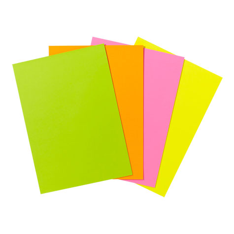Quill XL Colour Copy Paper A4 80gsm Flouro Green PACK 100 SPECIAL 30% Off - only 3 available at this price