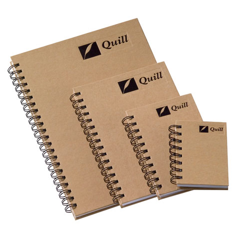 Quill Notebook Natural Range A4 80 Sheet SPECIAL 30% Off - only 20 available at this price