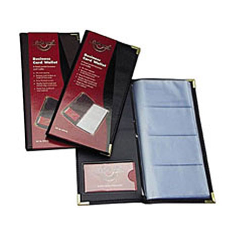 Copyline business card holders waterville executive business card books and refills reheart Image collections