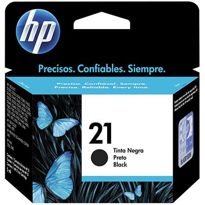 HP C9351AA NO 21 INK CARTRIDGE BLACK