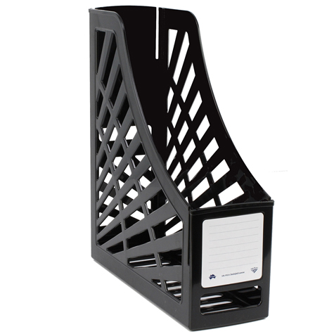 Italplast Magazine Stand I160B Black SPECIAL 30% Off - only 2 available at this price