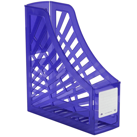 Italplast Magazine Stand I160TPU Tinted Purple SPECIAL 30% Off - only 12 available at this price