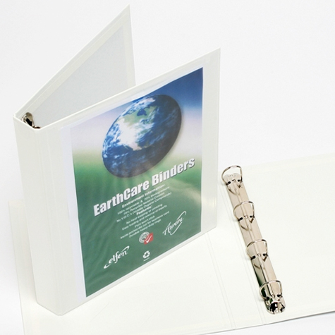 cumberland earthcare insert binder a3 4d ring 40mm white