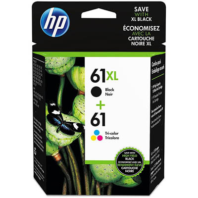 HP NO 61XL INK CARTRIDGE PHOTO VALUE PACK