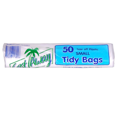 Kitchen Tidy Bags Small 540 x 450mm 18L 50 Bags/Roll CARTON 20