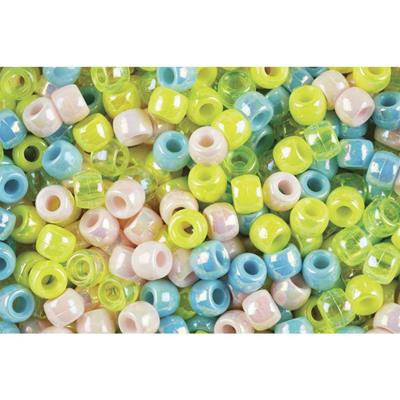 EDUCATIONAL COLOURS PONY BEADS PEARL PACK 1000
