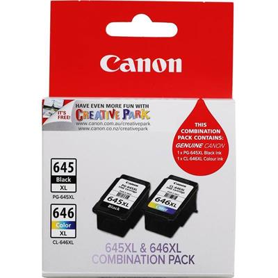 CANON PG645 CL646 XL TWIN PACK