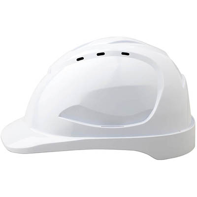 PROCHOICE HARD HAT HHV9 VENTED 9 POINT PUSHLOCK HARNESS WHITE