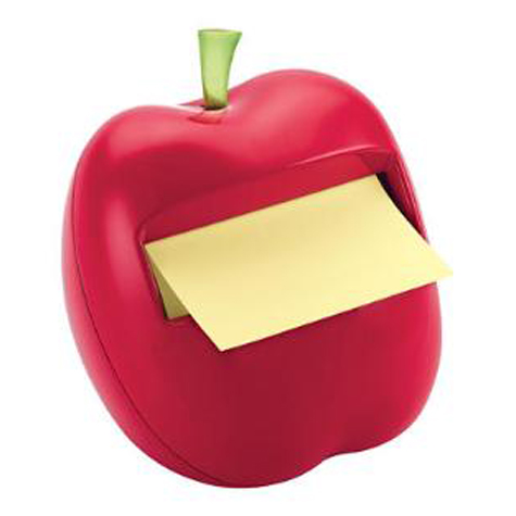 3M Post It Notes Apple Dispenser APL330 76 x 76mm SPECIAL 30% Off - only 2 available at this price