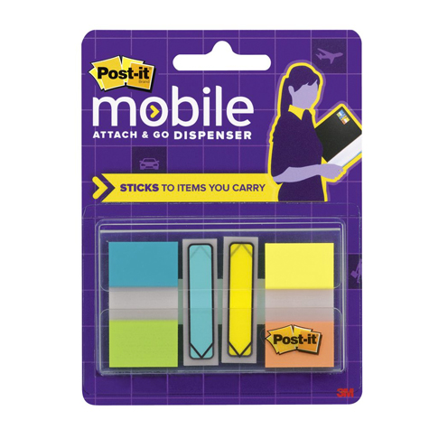 3M Post It Mobile Attach & Go Flags & Arrows PACK 80