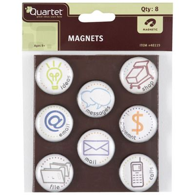 Quartet TASKS Magnets PACK 8 SPECIAL 30% Off - only 5 available at this price