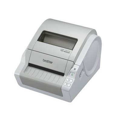 Brother TD4000 Thermal Desktop Label and Barcode Printer