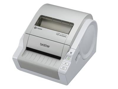 Brother TD4100N Thermal Desktop Network Label and Barcode Printer