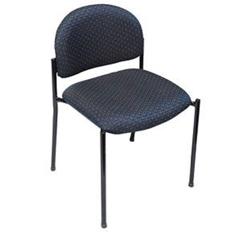 Visitors Chair V100 Stackable with Gas Lift Back Height 350mm
