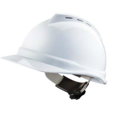V-GARD 500 FASTRAC 11 SUSPENSION HARD HAT WHITE