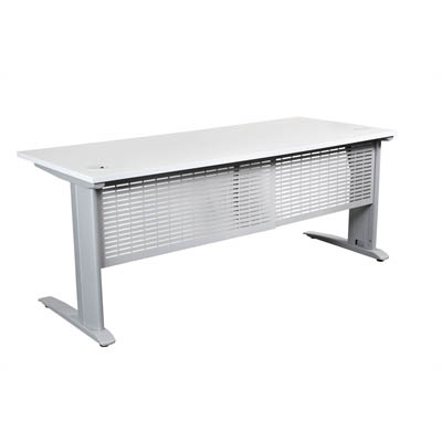 SUMMIT WORKSTATION PACKAGE 1500 X 750MM WHITE/SILVER