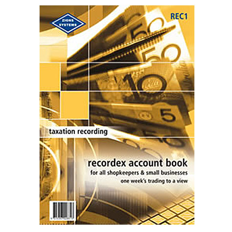 Zions REC1 Recordex Accounting System SPECIAL 30% Off - only 1 available at this price